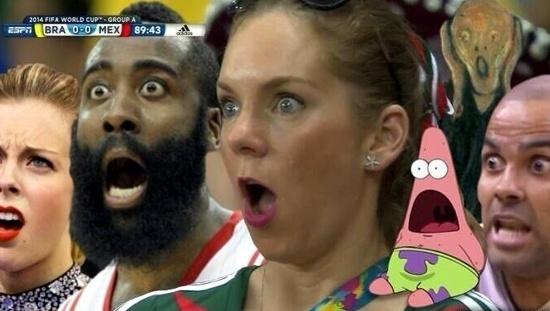 Reação do Scrum Master.