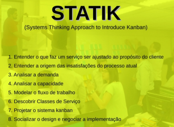 STATIK - Systems Thinking Approach To Introduce Kanban.