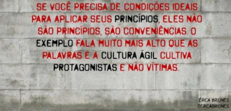 Mensagem marcante de Vitor Hugo.