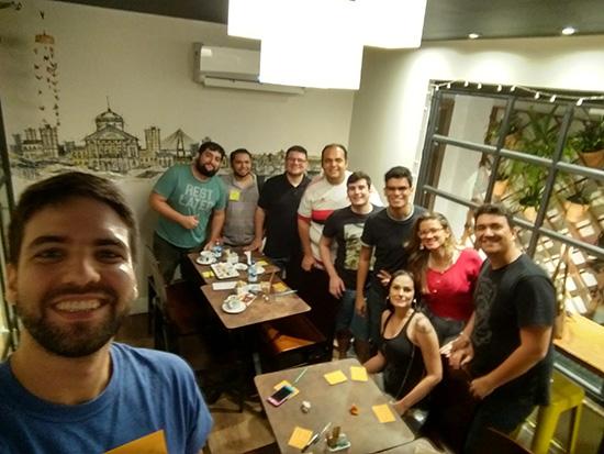 Participantes do 1o. MeetUp