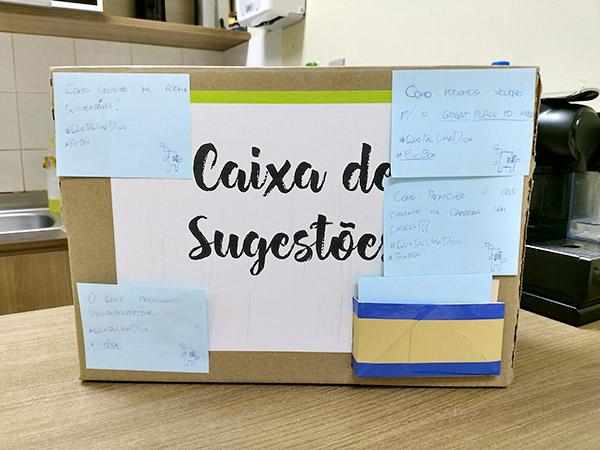 Caixa de Sugestão